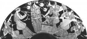 χορός-προσφορά-Διόνυσος